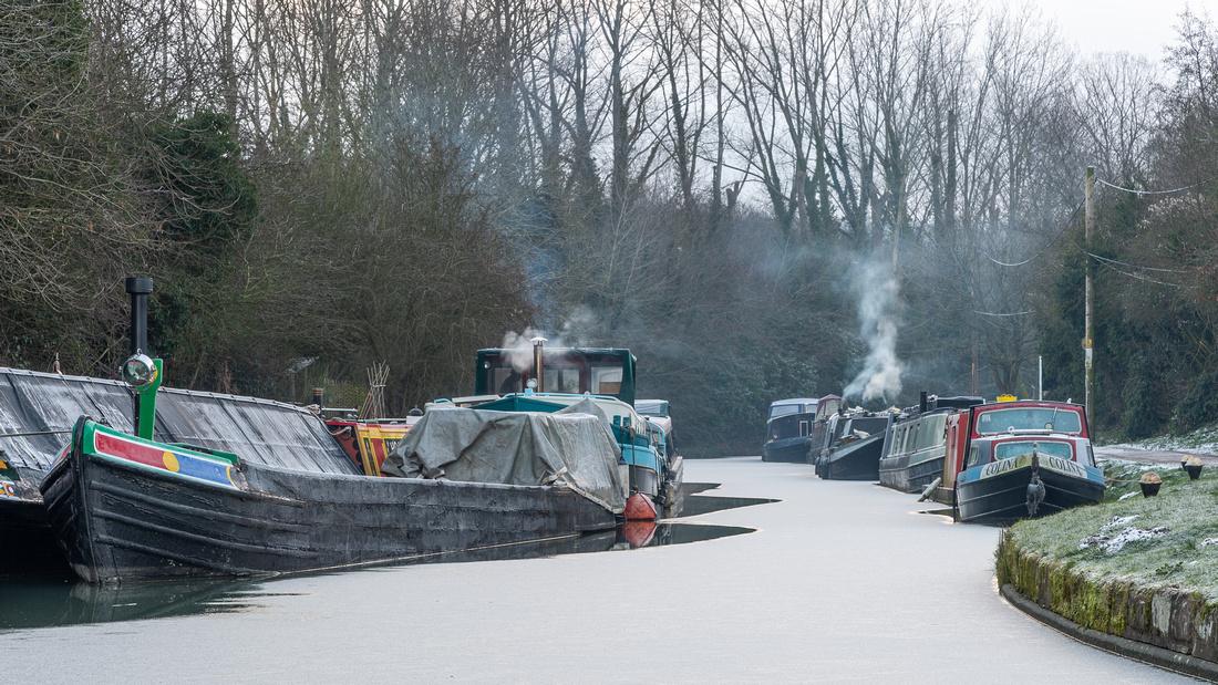 Bulborne Canal Works