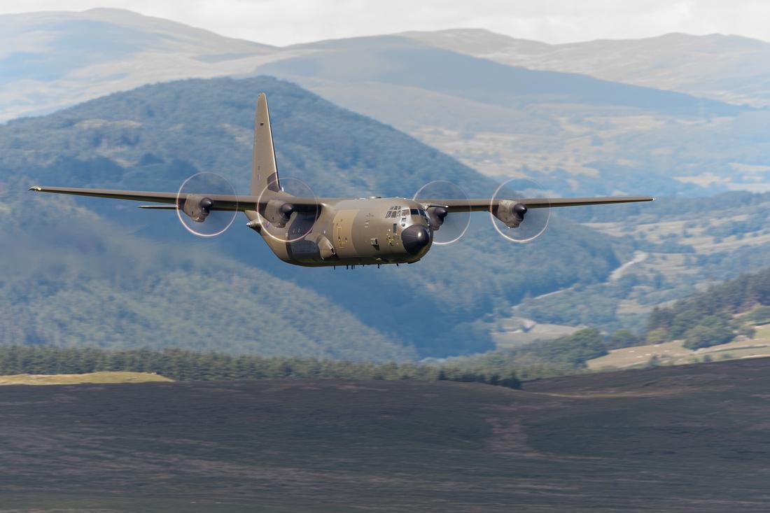 Lockheed Martin C-130J-30 Hercules C4 (ZH872)