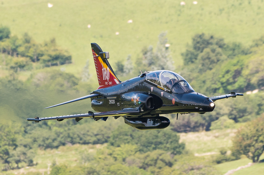 Bae Systems Hawk-T.2 (ZK020)— Royal Air Force