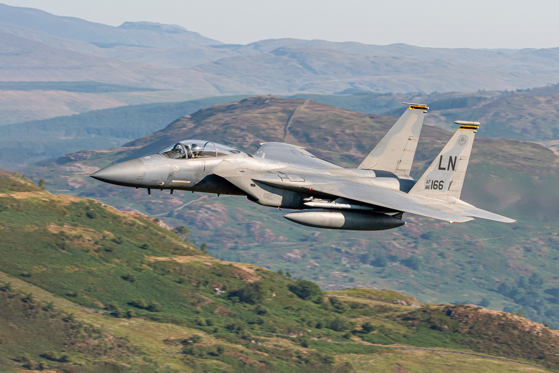 McDonnell Douglas F-15C Eagle (86-166) 493rd  FS 'The Grim Reapers'